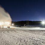 Večerné lyžovanie