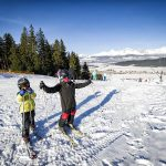 Svah lyžovanie Lučivná