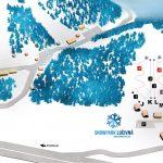 Mapa Snowpark Lučivná